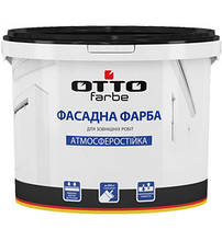 Otto Farbe Краска фасадная Снежно-белая 7 кг