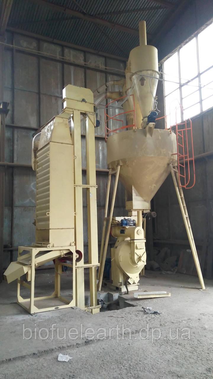 Блок грануляції, лінія гранулювання 1000 кг\год