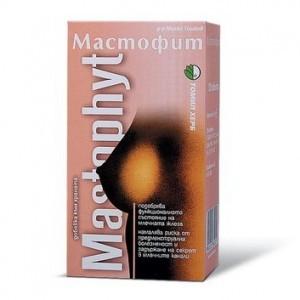 Мастофит -нормализует функцию молочных желез, предотвращает воспаления (120табл.,Болгария)