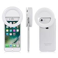 Светодиодное кольцо для селфи   Селфи лампа   Selfie Ring Light (разные цвета)