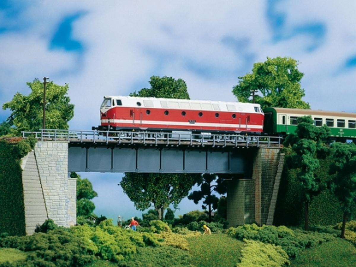 Auhagen 11341 стальной мост / H0 1:87