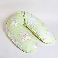 Подушка  для беременных и кормления Marselle (Наполнитель полиэстровые шарики)