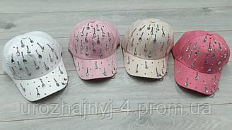 Коттоновая кепка для девочек р52-54