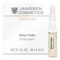 Мелафадин  Mela-Fadin  осветляющая сыворотка Janssen Cosmetiks 25 ампул по 2 мл.