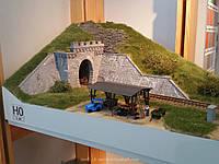 Auhagen 11342Сборная модель однопутного тоннельного портала, масшатба H0 1:87, фото 1