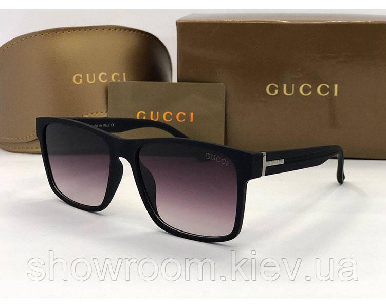 Мужские солнцезащитные очки в стиле Gucci (149)