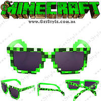 "Солнечные очки Майнкрафт - ""Minecraft Glasses"""