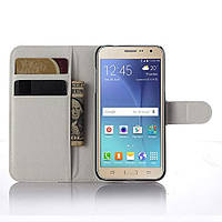 Чехол-книжка Litchie Wallet для Samsung J320 Galaxy J3 2016 Белый
