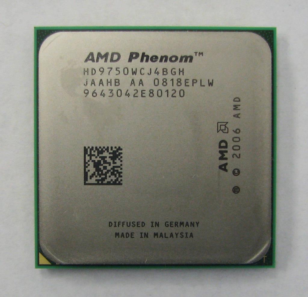 """Процессор AMD Phenom X4 9750 Agena Б\У """"Over-Stock"""""""