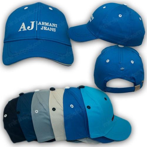 Бейсболка для мальчика с логотипом Armani Jeans