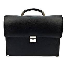 Мужской портфель кожаный Karya 075-45 черный