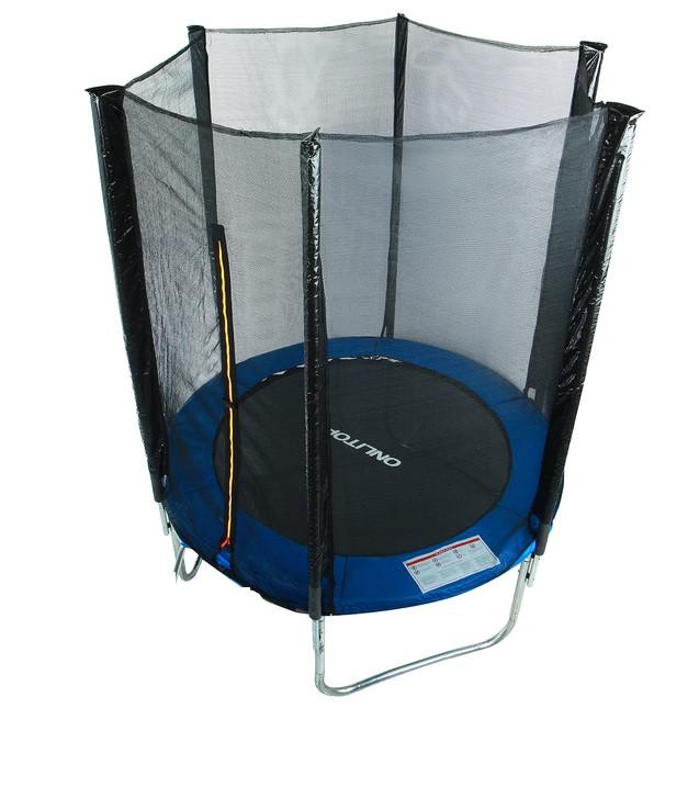 3f8dc1e5b23bc6 Батут SkyJump 4.5 фт, 140 см с внешней сеткой : купить недорого с ...