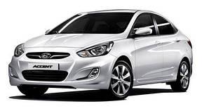 Чехлы Hyundai Accent (Хюндай Акцент) 2011-