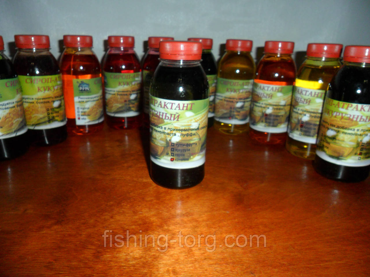сироп антрактант кукурузный конопля  440 гр