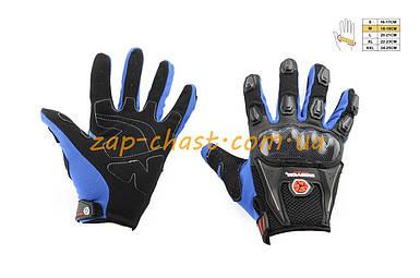 Перчатки   SCOYCO   (mod:MC-09, size:M, синие, текстиль)
