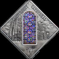 Вітраж Кентерберійського собору ~ Срібна монета у футлярі, фото 1