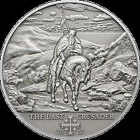 Хрестові походи – 10й - 1365 р., Петро I Кіпрський ~ Останній хрестоносець ~ Срібна монета у футлярі, фото 1