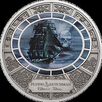 Летючий голландець ~ Срібна монета у футлярі, фото 1
