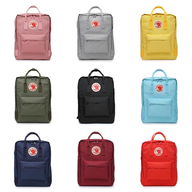 Рюкзак Kanken Fjallraven Classic, сумка, портфель, копия, голубой