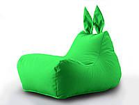 Кресло мешок Зайка цвет Салатовый