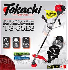 Бензокоса Tokachi TG-55ES с электростартером