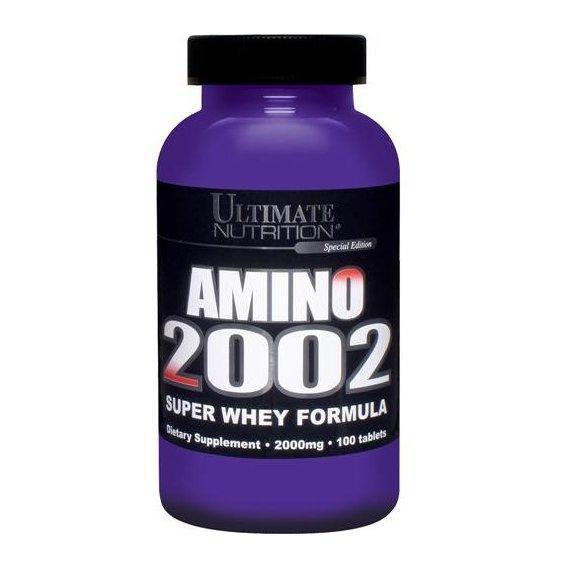 Амінокислоти-Спортивне Харчування Amino 2002 100 tabs