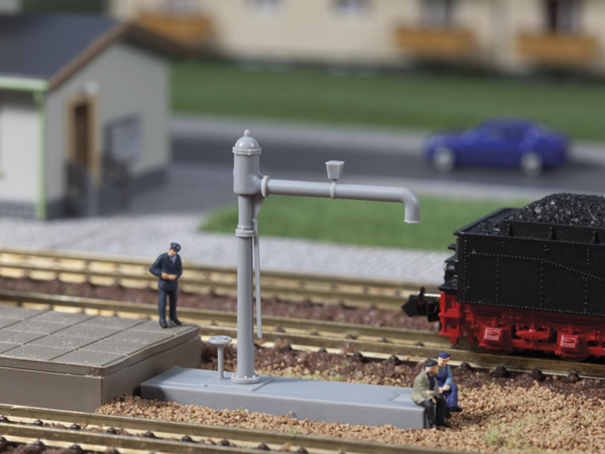 Auhagen 41626 Модель для дитячої залізниці - Гидроколонка для паровозів, масштабу H0 1:87