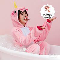 Кигуруми пижама Розовый Единорог S, M, L, XL