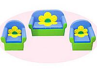 """Мягкая детская мебель """"Ромашка"""""""
