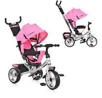 Велосипед Metr+ M 3113-10 розовый