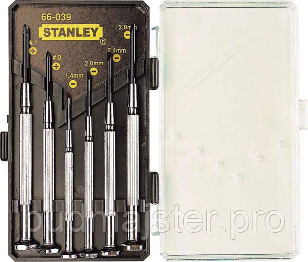 Набір викруток Stanley для точних робіт