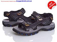 Сандалии кожаные мужские р.41-44 (код:0120-00), фото 1