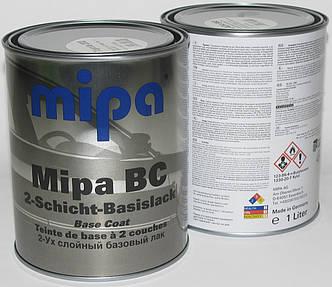 Авто краска (автоэмаль) металлик Mipa BC 1л Toyota 6M1 Dark emerald, фото 2