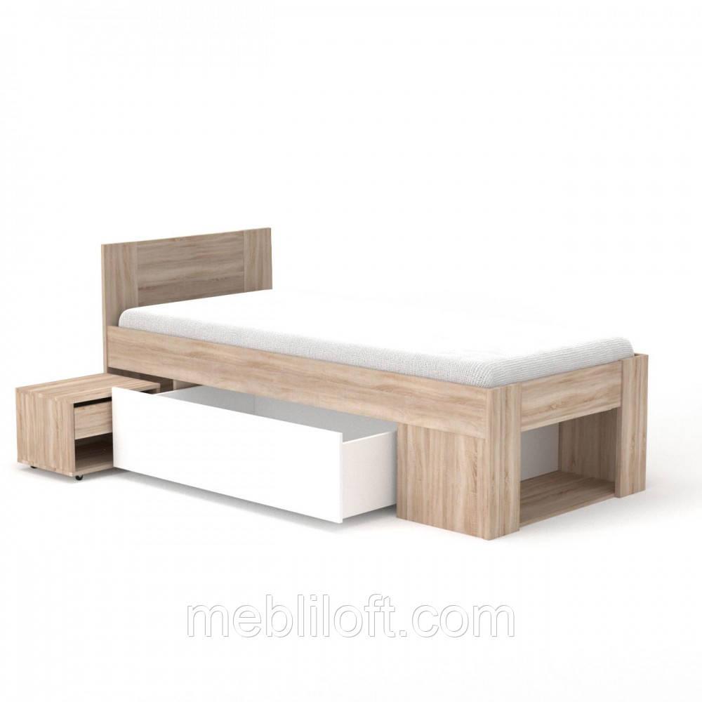Ліжко 90 (комплект) Спальня Рико / Rico