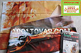 "Тканевая шторка для ванной комнаты из полиэстера ""Horses"" (Лошади) Tropik Home, размер 180х200 см., Турция, фото 2"