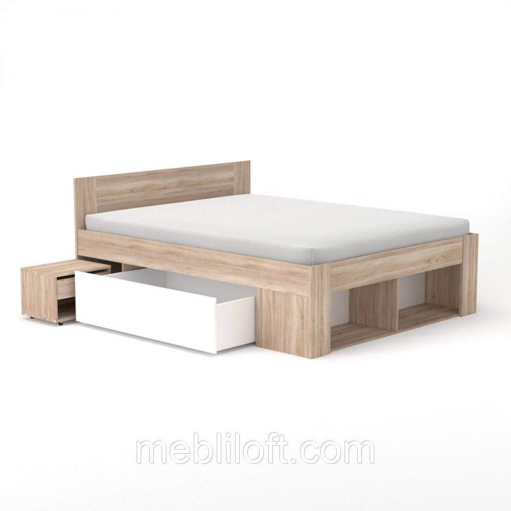 Ліжко 160 (комплект) Спальня Ріко / Rico