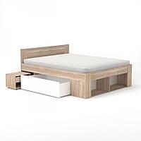 Ліжко 160 (комплект) Спальня Ріко / Rico, фото 1