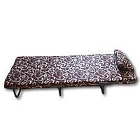 """Раскладушка - кровать на ремнях """" М60 """" с матрасом и подушкой от производителя"""
