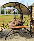 Качеля садовая  кованая, фото 2
