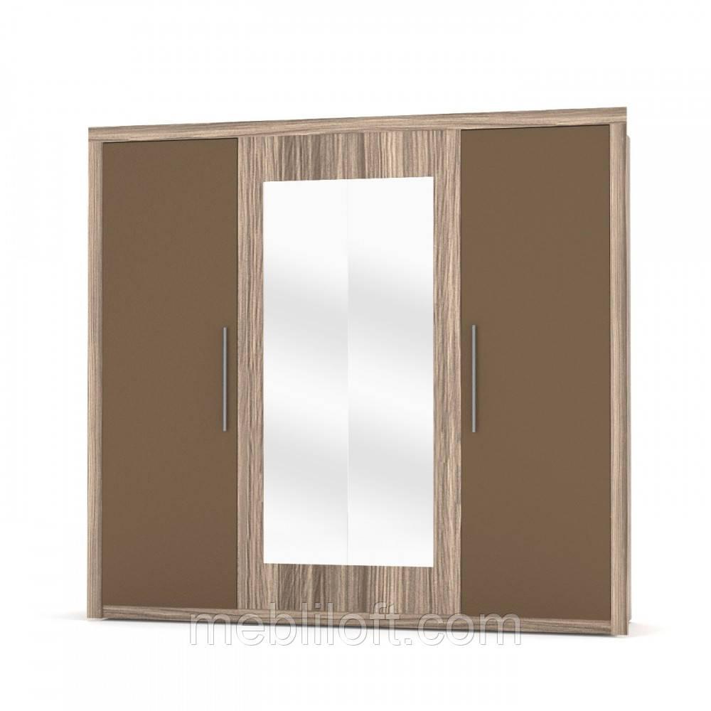 Шкаф 4D (с 2-ма зеркалами) Спальня Джульетта