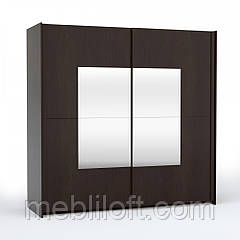 Шафа 2D (з 4-ма дзеркалами) Алабама спальня
