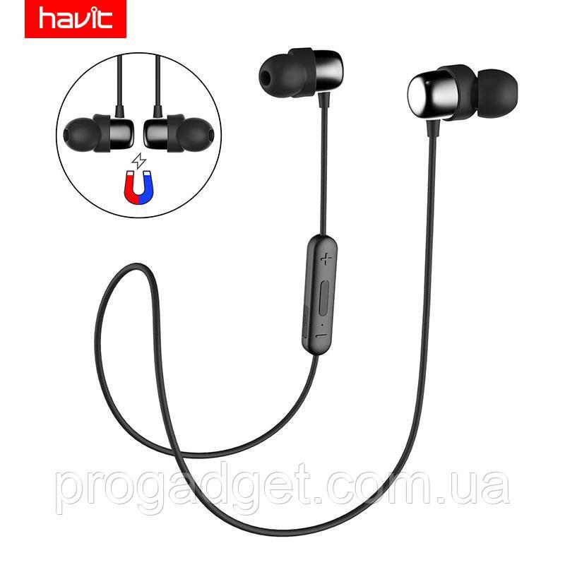 HAVIT HV-I39 Bluetooth 4.2 black (черные) -  Беспроводные музыкальные наушники для спортсменов!