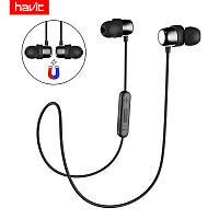 HAVIT HV-I39 Bluetooth 4.2 black (черные) -  Беспроводные музыкальные наушники для спортсменов!, фото 1