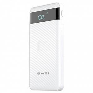 Power Bank Awei P63k Qualcomm QC3.0 LCD 10 000 mAh White