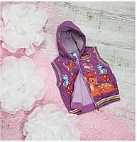 Жилетка Бемби для девочки, размер 1-2 года