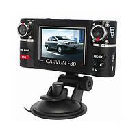 РЕГИСТРАТОР DVR F30. Видеорегистратор с двумя камерами. Недорогой видеорегистратор. Код: КТМТ244
