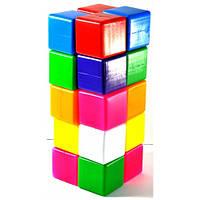 Кубик цветной в сетке 20-эл 111\2
