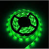 Светодиодная (LED) лента в силиконе 3528, 60 LED, GREEN, 5 метров, 12V, Waterproof