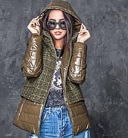 Модная женская весенняя куртка