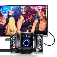 Цифровой оптический аудио кабель Toslink  10м